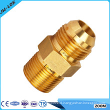 Copper pipe flared fittings