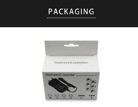 wall charger packaging