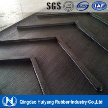 ISO Certify Compani Ep/Cc Canvas EPDM Material Chevron Heat Resisting Conveyor Belt for Concrete