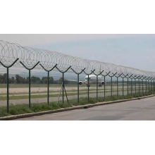 Airport Fence or Security Protection Network