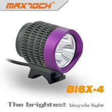 3 púrpura Maxtoch BI6X-4 * CREE 2800 Lumen T6 LED púrpura clásicos potente bicicleta luz