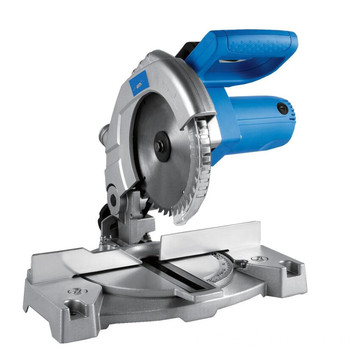 210 mm 210 milímetros Miter Saw Machines com base de alumínio