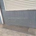 Recubrimiento en polvo de malla de alambre soldado para jaula de pájaros