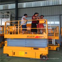 14m Qyjz-14k selbstfahrende Scherenbühne