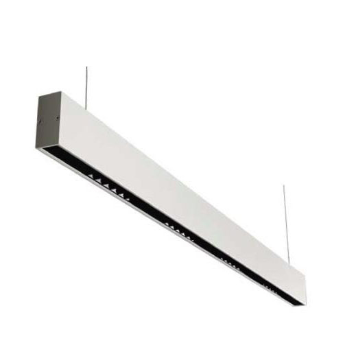 White Pendant Mounted 20W LED Linear Light