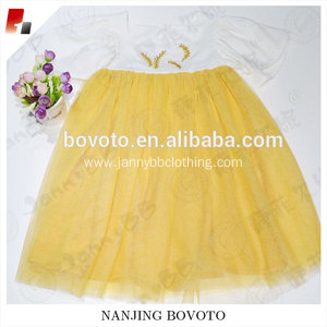 Girl summer voile dress WD Wolf embroideried