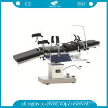 AG-Ot025 Surgical Instrument Table Ce&ISO Black Metal Ot Table