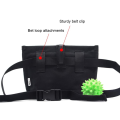 Práctico bolso de cintura para entrenamiento de perros