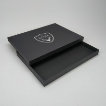 Custom placemat black gift box packaging for placemats