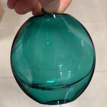 embalagem de cosméticos pintura à base de água de vidro verde