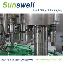 Ligne de production volumétrique rotative automatique d'huile comestible