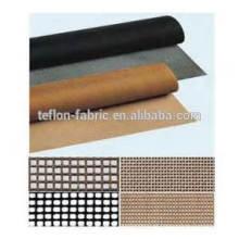 1piece personalizado Teflon fibra de vidro revestido aberto cinta transportadora de malha