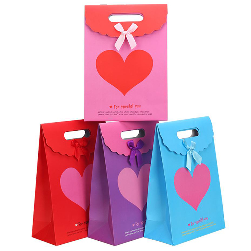 Personalized Hair Extension Packaging Stone Paper Bag