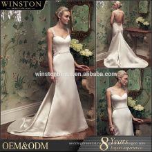 2015 новая мода реальные фото шифон свадебное платье