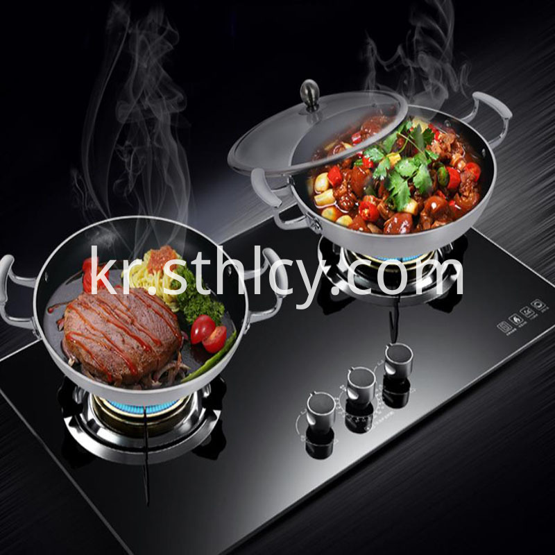 Stainless Steel Pan Seasoning