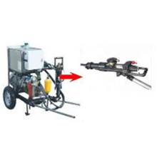 YYT28 full hydraulic drill with pump station, portable rock drill with air leg