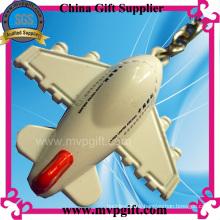 Llavero del metal del avión de aire 3D (M-MK52)