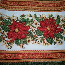 Polyester Table Cloth Fabric/Table Cloth Mini Matt Fabric/Printed Table Cloth Fabric