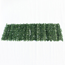 PE customised size artificial hedge screening rolls for wall decor