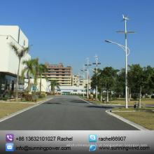 Sistema de luz Solar híbrido poder abastecimento rua do vento / (iluminação LED)