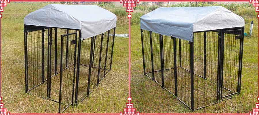 6x4x8 dog kennel cage