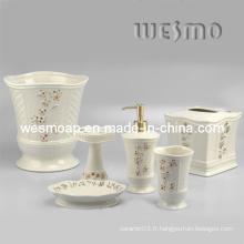 Accessoire de bain en porcelaine de qualité supérieure (WBC0588A)