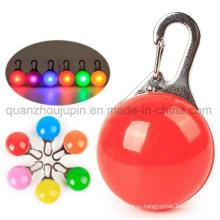 OEM Hot Sale Plastic Colorful LED Dog Pendant