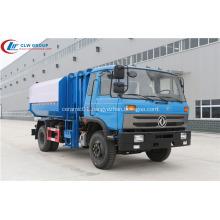 HOT Dongfeng cummins 170hp 12cbm waste bin truck