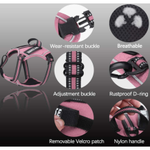 Upgrade Fabric and Reflective Dog Harness