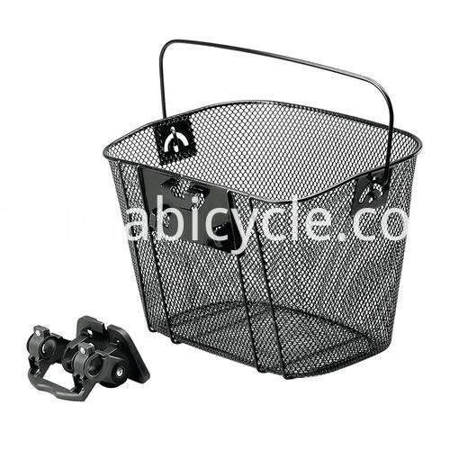 basket with carry handle