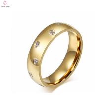 2 Gram Gold crystal wedding men's ring for men