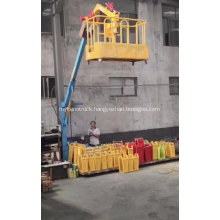 Factory price Aerial Manlift Work Platform Small crane mounted for truck car trailer lift