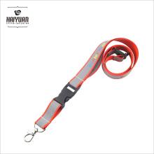 Яркий цвет Отражающий светлый ремешок для шеи, используемый для работы