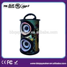 Schnelles Vor- und Zurückspulen eines Lied-hölzernen Lautsprechers mit Anzeige für Computer / MP3 / MP4 / Mobile