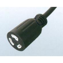 Cable de extensión de bloqueo USA UL