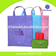 New material recycled nylon foldable shopping bag