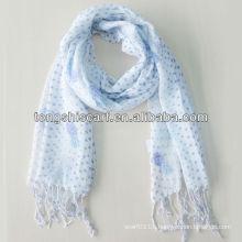 2013 fashion plain viscose scarf