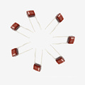 Briliant Quality From Factory Topmay Electronics Condensador de película de poliéster metalizado Mkt-Cl2
