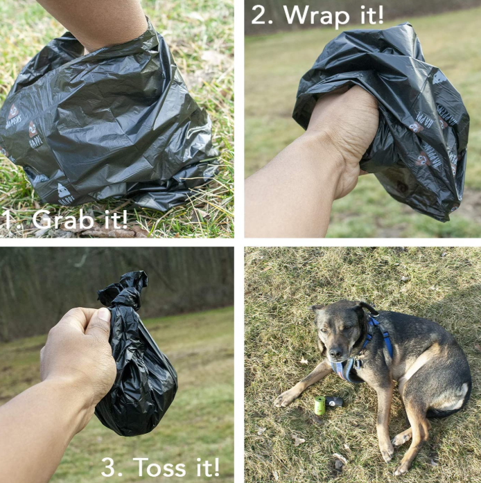 Unscented Dog Waste Bags