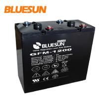Batería profunda 2V 1000Ah del gel del ciclo de Bluesun para el sistema solar híbrido del panel solar 350w 300w 350w