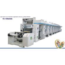 Máquina de impresión de alta velocidad de rotograbado de computadora