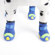 Vente chaude DOG BOOTS Hiver Protecteur Pet Shoes Chaussons Imperméable Pluie Marche Chien Chaussures