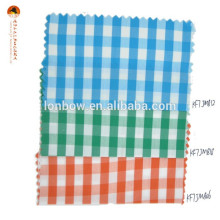 Baumwolle Nylon Himmel Gingham Stoff für klassisches Hemd