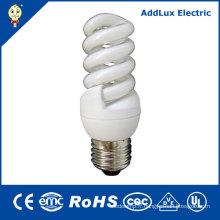 Lampes économiseuses d'énergie en spirale d'UL 5W 7W 9W 11W 110-240V