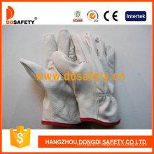 White Cow Grain Leather Glove Dld215