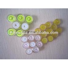Frasco circular de acrílico Frasco circular