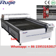Melhor preço e máquina profissional de corte a laser CNC CO2 para metal não metálico
