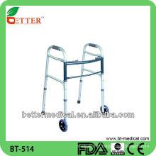 Caminhantes de rolagem de rotinas de alumínio Walker