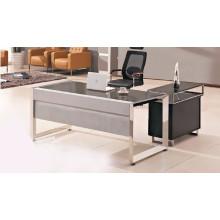 Современный дизайн офисного стола с деревянным столом