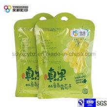 Embalaje de plástico en forma de fruta seca